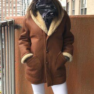 Vintage 100% Sheepskin Coat
